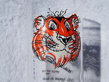 Vintage Esso Tiger Put a Tiger in Your Tank Drinking Glass Foreign Languages