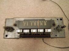 1964-1967 Era Automatic Radio Aftermarket AM Push Button Radio, Working!