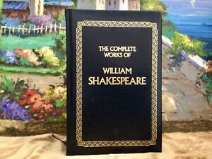 The Complete Works of William Shakespeare Longmeadow Press Bonded Leather