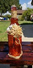 Colored Glass Bottles Large Wine Bottle Size - Decorative Vintage Bottles for or
