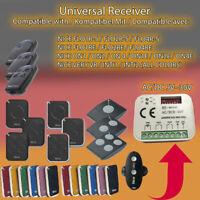 Universal Lichtschranke f/ür SEAV,DUCATI,TAU,PROTECO,NICE 12-24V AC//DC NO//NC