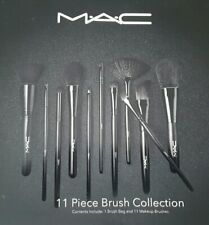 Neuf Kit Professionnel *M@c* 11 Pinceaux Maquillage Makeup brushes *M-A-C* Kit