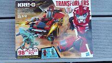 AUTHENTIC Transformers Bundle-KRE-O SIDESWIPE ROADWAY RUNDOWN&2 ACTION FIGURES