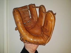 Duke Snider 1950's Starline 3 Finger Baseball Glove Brooklyn Dodgers HOF NICE!
