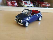 FIAT 500 CABRIO 1/18 ARTIGIANALE su base ROAD SIGNATURE -- NO 1/16 BURAGO