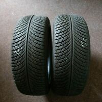 2x Michelin Pilot Alpin 5 AO 225/55 R18 102V DOT 4418 6 mm Winterreifen