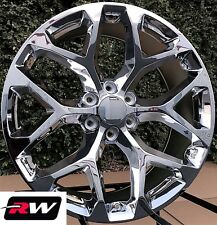 "22"" inch 22 x9"" Wheels for Chevy Avalanche Chrome Rims CK156"