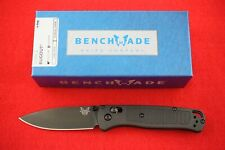 BENCHMADE 535BK-2 BUGOUT CPM-S30V, AXIS LOCK, BLACK HANDLE AND BLADE KNIFE