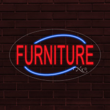 Furniture Led Flex Neon Sign For Retail Window Displays Energy Efficient
