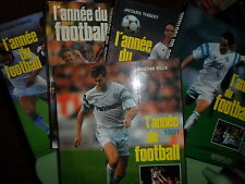 L'ANNEE DU FOOTBALL  1987-88-89-90-91