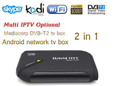 The latest android tv box Quad Core built in Mediacorp DVB-T2 tv tuner 2 in 1