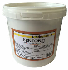 Bentonit Pulver sehr fein Pharmaqualität 1kg