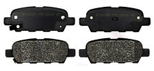 Disc Brake Pad Set-Semi Metallic Disc Brake Pad Rear ACDelco Pro Brakes 17D905M