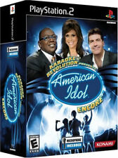 Karaoke Revolution Presents: American Idol Encore Bundle PS2 New Playstation 2