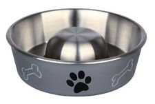 Trixie Slow Feed Stainless Steel Dog Bowl Posted same day before 1PM