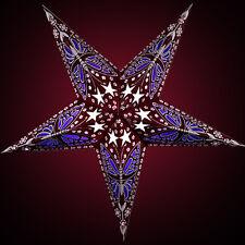 """STERNENLICHTER24 Papierstern Leuchtstern Weihnachtsstern Lila """"Papillon Purple"""""""