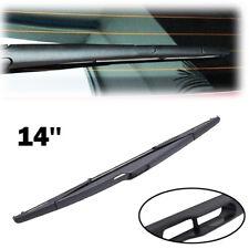 "14"" Tailgate Rear Windscreen Wiper Blade For Vauxhall Zafira B Peugeot 206 307"