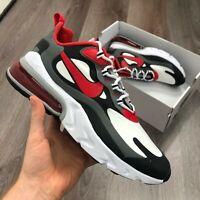 "Nike Air Max 270 React|""""SailBlack Metallic Red Bronze Pure"