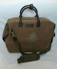 Tommy Bahama Paradise Carry On thick canvas Suitcase Duffle Bag