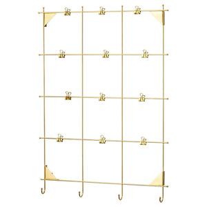 *New* MYRHEDEN Frame Brass-colour 12 clips 003.382.33 *Brand IKEA*