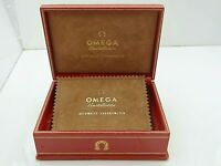 Vintage OMEGA CONSTELLATION PIE PAN  Leder Box für Herrenuhr