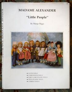 Madame Alexander Little People by Marge Biggs Autographed! P1048