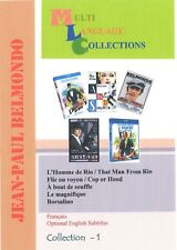 Jean-Paul Belmondo. Collection 1. DVD 5 movies. Optional English subtitles