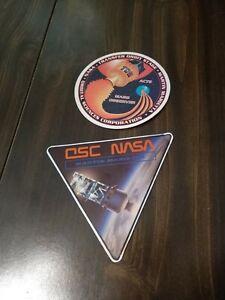 NASA, Orbital Sciences Corp, Mars Observer, 2 Stickers