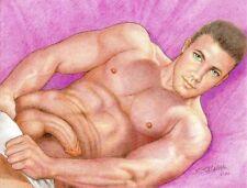 "Gay Art ""Ken"" Original not a copy by Salvador Salazar"
