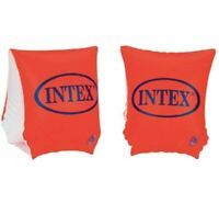 "Intex Deluxe Arm Band Swim Trainers - Safety Orange 58642EP 9"" x 6"" Ages 3-6"