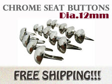 [SC] BMW BSA BENELLI BIG DOG CHROME SEAT BUTTON 15PCS #3
