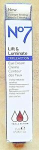 No 7 Lift and Luminate Triple Action Eye Cream