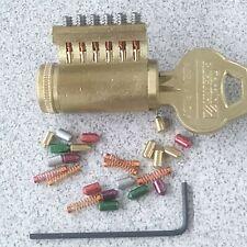 Corbin Russwin Rekeyable Cutaway Lock Cylinder With Security Spool Top Pins