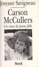 SAVIGNEAU Josyane - Carson McCullers