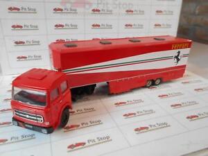 OLC59100 by OLD CARS FIAT 170 TRASPORTO SCUDERIA FERRARI 1979 1/43