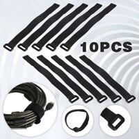 10Pcs Durable RC Battery Down Tie Reusable Strap Antiskid Cable Straps 30X2cm