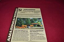 Amazone Werke Extra Coverage Seed Drills Dealer's Brochure LCOH
