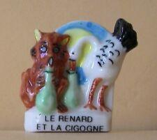 Fève Fables Bonjour M. de La Fontaine - 2000 - Le Renard & la Cigogne