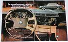 Advert Pubblicità Auto 1979 BMW 728 730 733i SERIE 7 E23