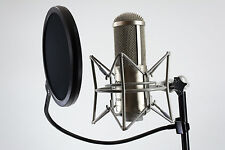 MODE MACHINES PS-1 Mikrofon Poppschutz Popkiller Windschutz Acoustic Filter NEU!