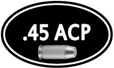 """.45 Cal Ammo Box Decal 5""""x3"""" ** 2 PACK **  Can 45 ACP M1911 Gun Sticker DC924"""
