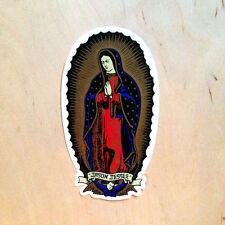 Santa Cruz Jason Jesse Mother Mary Jesus Guadalupe angel sticker