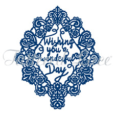 New listing Tattered Lace Cutting Die - Totally Entwined Birthday