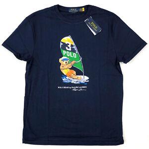 Polo Ralph Lauren Men's Bear T-Shirt Short Sleeve Tee
