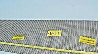 "Intralox Modular Plastic Conveyor Belt  8'L x 1'-3""W x 1/4 thick FREE SHIP"