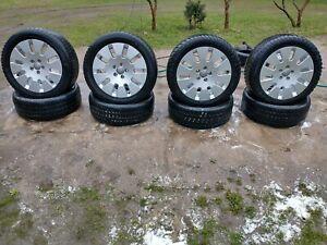 "Genuine Audi 18"" Monoblock alloys tyres winter a3 a8 d2 a6 c4 wheels A4"