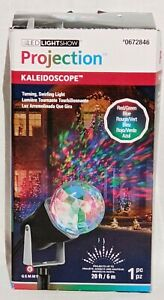 GEMMY LED Lightshow Projection Kaleidoscope Red/Green/Blue ~ BRAND NEW