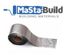Super Strong Waterproof Tape Butyl Seal Rubber Aluminum Foil Tape 0.6mm 75mm 15M