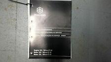 GENUINE SERVICE MANUAL FOR PIAGGIO/GILERA 4T 125-180CC ENGINE