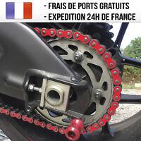 Sticker de chaine moto - Rouge Ducati